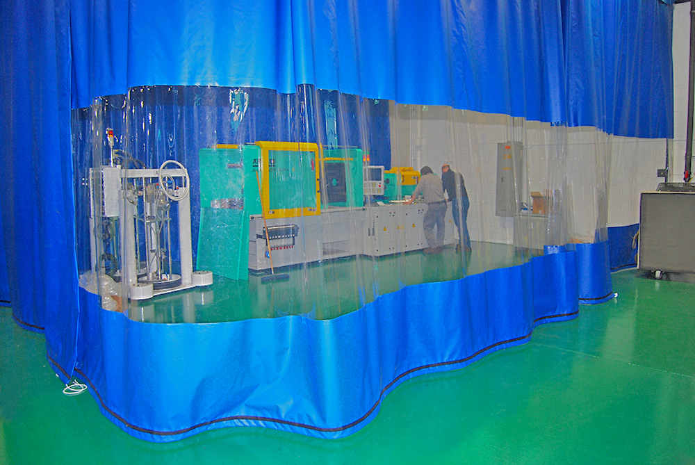 High Quality Industrial Curtain Wall