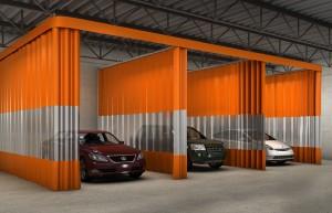 Autobody Shop Curtains