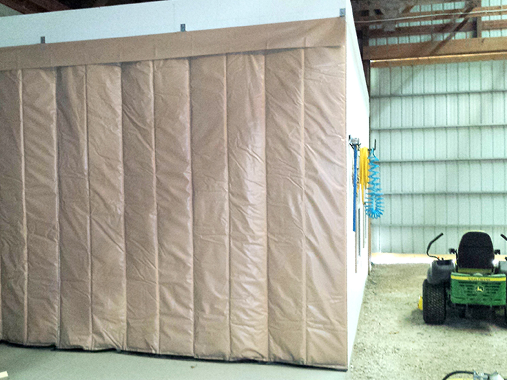 Thermo Block Retractable Insulated Curtain Amcraft 1