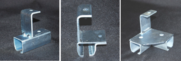 Industrial Curtain Rod Systems Rod Connectors Amp Brackets