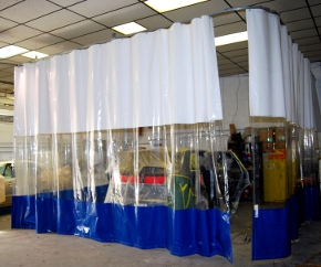 Spray Booth Curtains Amp Paint Booth Curtains Curtain Walls