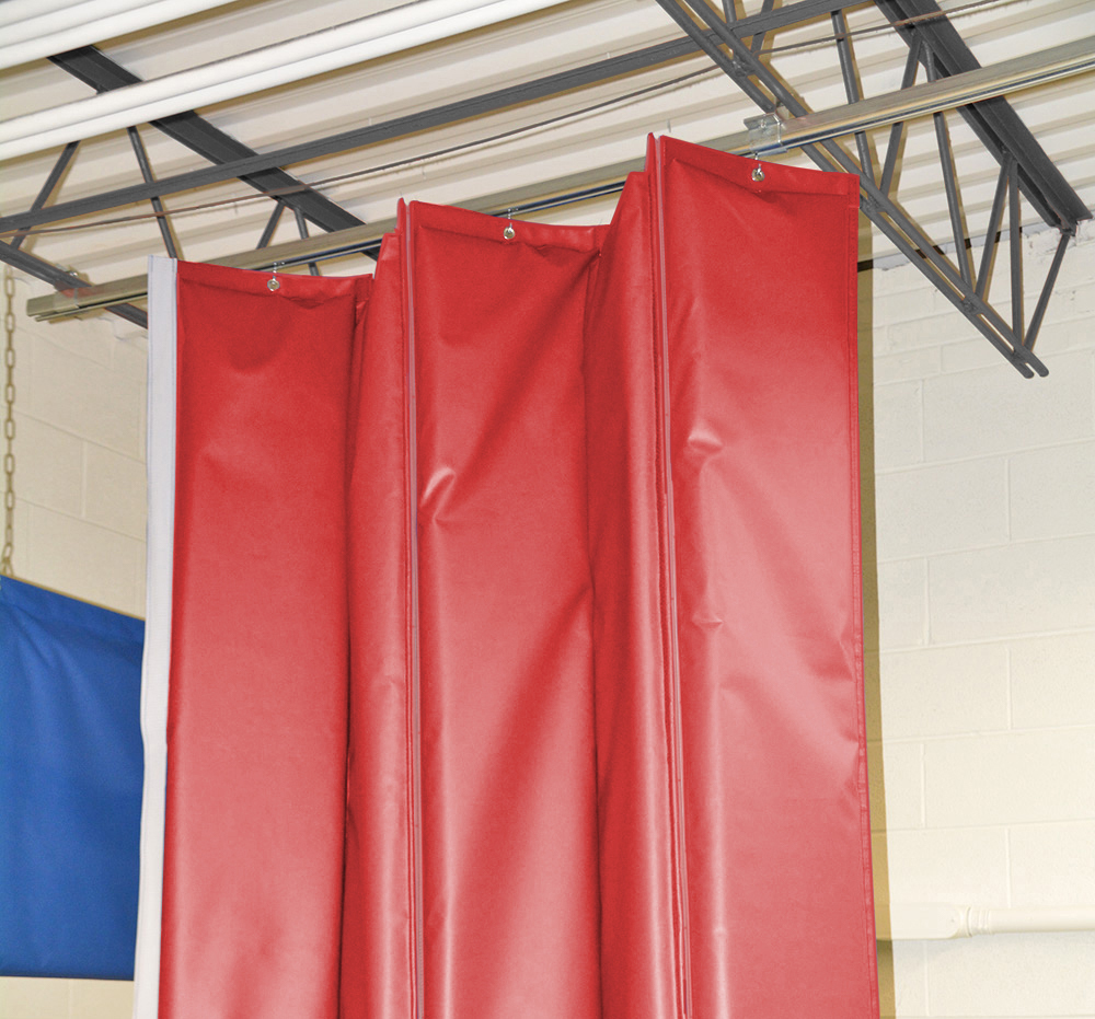 Retractable Industrial Acoustical Curtains Amp Acoustic