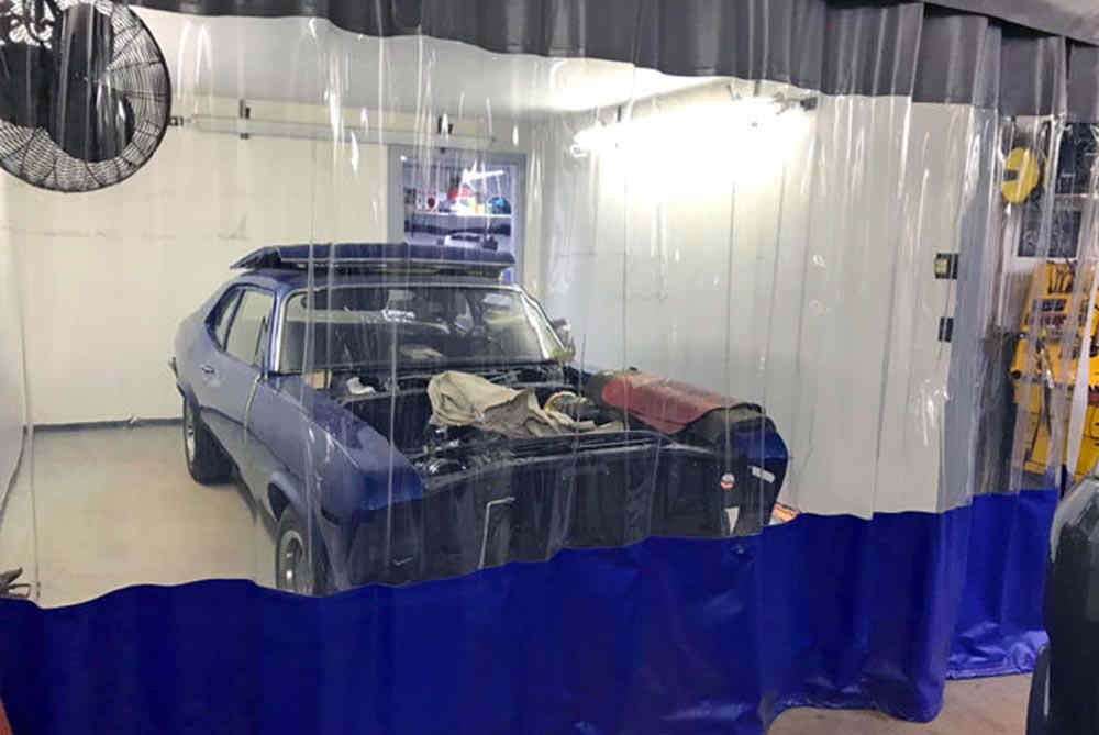 Aluminum Body Shop Enclosures