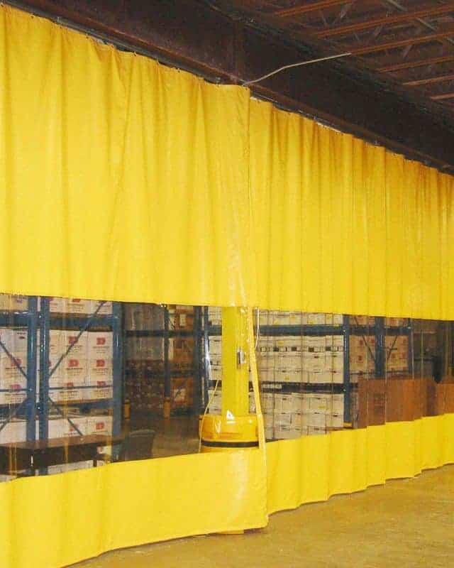 Warehouse Curtains Divider Walls Amp Partition Curtain Walls